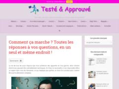 Détails : https://tester-approuver.fr/