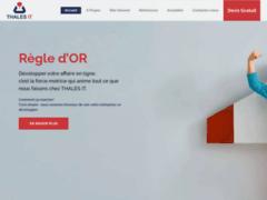 Thales IT - Création internet à Genève
