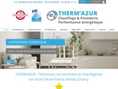 Création du site Internet de Therm Azur (Entreprise de Chauffagiste à BONDY )