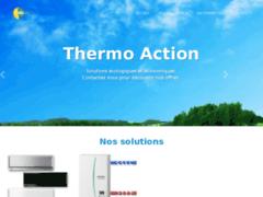 Création du site Internet de THERMO ACTION (Entreprise de Chauffagiste à MORESTEL )