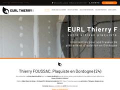 EURL THIERRY F: Platrier à EGLISE NEUVE DE VERGT.
