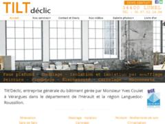 Création du site Internet de Tilt'Déclic (Entreprise de Peintre à VERARGUES )