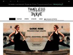 Détails : Timeless by Eyllye : la boutique des vêtements transformables