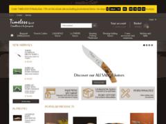Détails : Timeless Spirit, couteaux artisanaux, couteaux français