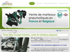 Détails : Timac New Concept Industry à Gembloux : vente de marteaux piqueurs pneumatiques La Croix