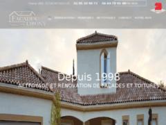 Création du site Internet de Lirony David (Entreprise de Façadier à REYSSOUZE )