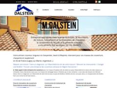 Création du site Internet de TCE DALSTEIN  (Entreprise de Couvreur à VILLEPINTE )