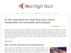 Détails : Tout high tech