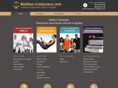 Création du site Internet de MeilleurTraducteur (Entreprise de Traducteur à GAP )