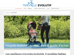 Détails : Meilleur comparatif pour acheter un tricycle évolutif