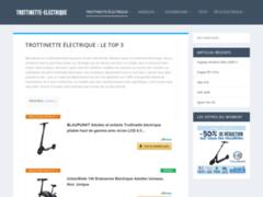 Détails : Trottinette electrique pas cher
