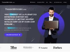 Détails : Tunneldevente, le site pour créer un tunnel de vente rentable