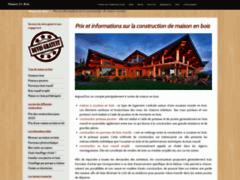 Détails : La maison en bois décortiquée