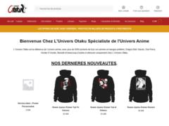 Détails : La boutique en ligne univers-otaku