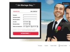 Détails : UnMAriageGay : le site conseils pour les mariages gays