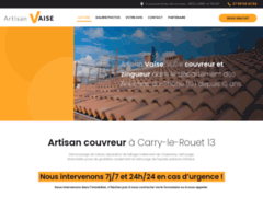 Artisan Vaise: Couvreur charpentier à CARRY-LE-ROUET