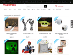 Détails : idée cadeau boutique geek