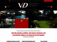 VERANDA Design - FERNANDES: Veranda, terrasse à COURTOMER