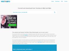 Détails : VIDZTOMP3, le convertisseur de vidéos YouTube