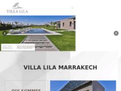 Détails : Villa luxe Marrakech