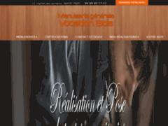 Création du site Internet de VOCATION BOIS (Entreprise de Menuisier à TREPT )