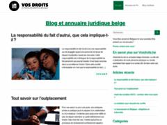 Détails : Portail et annuaire juridique en Belgique