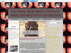 Marabout Gomez, puissant marabout africain