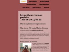 Détails : Marabout africain sérieux à Paris