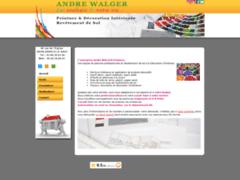Création du site Internet de WALGER André (Entreprise de Peintre à ASPACH LE HAUT )