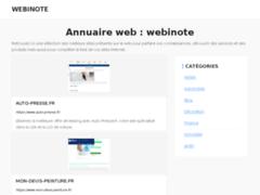 Détails : Webinote