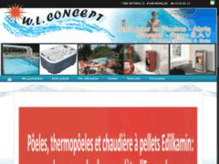 Création du site Internet de WL CONCEPT (Entreprise de Piscine à INGWILLER )