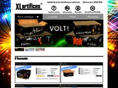 Détails : XL-Artifices - Boutique de feu d'artifice vente en ligne
