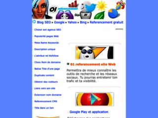 Détails : Referencement gratuit de sites Web