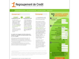 Détails : Le regroupement de credit