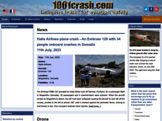 1001 crash - Accidents aériens