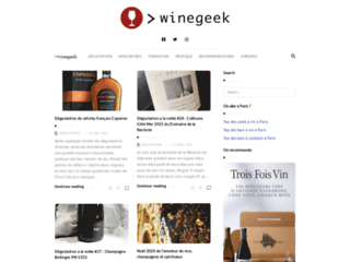 Détails : Un blog sur le vin