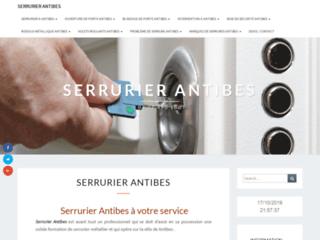 SERRURIER ANTIBES | 7j/7 24h/24 | Tel: 04 22 490 100