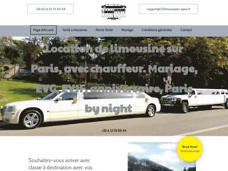 Détails : location limousine avec chauffeur