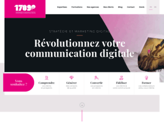 Agence web 1789.fr