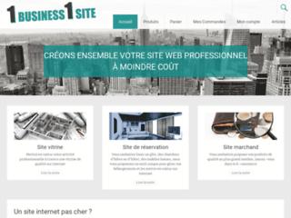 1Business1Site - Créateurs de sites WEB - Qualité et Prix bas