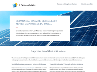 Détails : Acheter des panneaux solaires