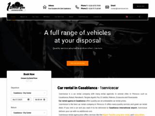 Détails : Agence de location de voitures au Maroc - 1servicecar.com