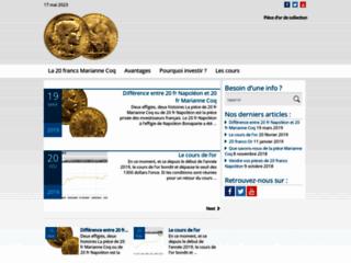 Détails : 20 francs marianne coq