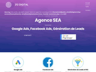 Agence SEA 212 Digital