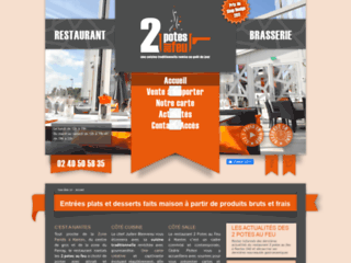 Restaurant traditionnel Nantes : 2 Potes au feu