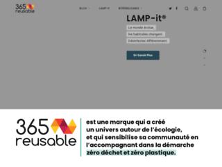 365 reusable boutique en ligne zéro dechet et zéro plastique