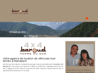Baroud Terre du Sud, location 4X4 marrakech