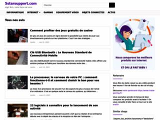 Le site de comparatif 5starsupport.com
