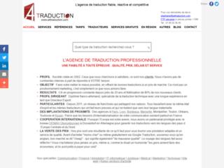 Détails : A4traduction, agence de traduction et d'interprétariat