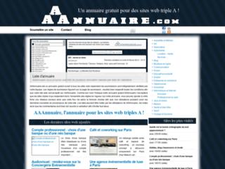 Détails : AAAnnuaire web